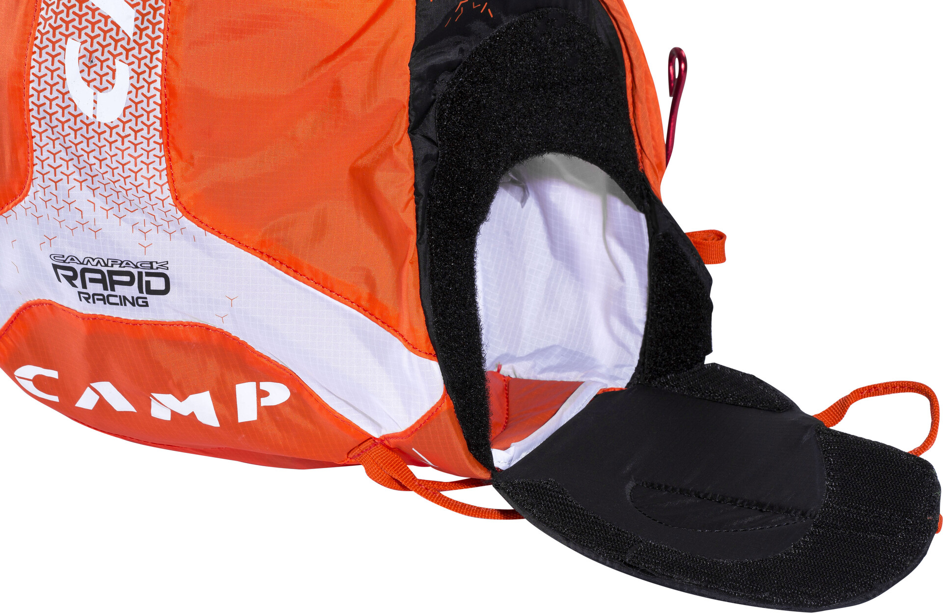 Klettergurt Camp : Camp rapid racing backpack l red white campz